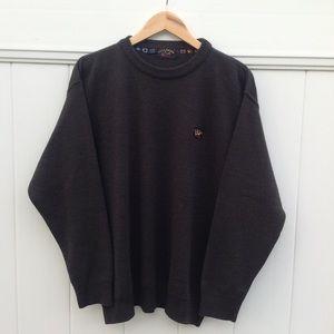 Paul & Shark front logo embroidery sweater sz XL